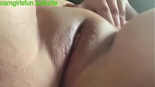 smooth chubby pussy cums hard while dirty talking toy...(camgirlsfun.website)
