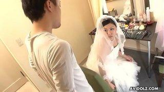 Japanese bride, Emi Koizumi cheated after the wedding ceremony, uncensored