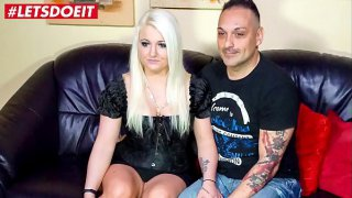 LETSDOEIT  German Chubby Wife Does A Magnificent Blowjob