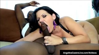 Latina BBW Angelina Castro Fucked By A Big Black Dick!