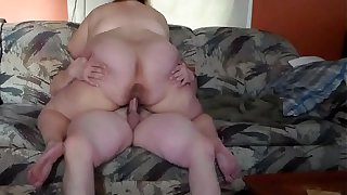 bbw wife cums hard