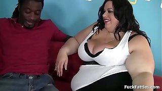 Big Fat BBW Beauty Meets Big Black Cock