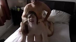 Busty BBW sex and creampie