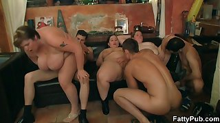 BBW rides cock after hot blowjob