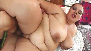 Fat big sexy redhead woman with big tits