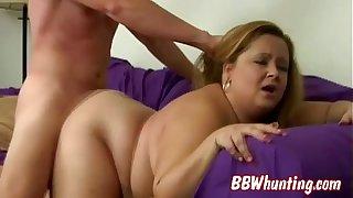 Tasty blonde BBW Jenny B