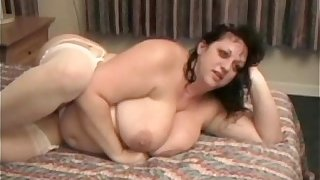 Big Tit Fat Wife is Used by 2 Big Black Cocks as Hubby Films