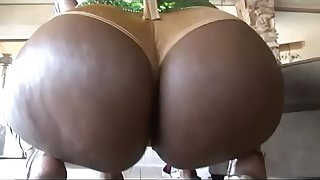 Fat fucking ass of black chunky whores # 12