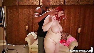 Big Tit Plumper Amerie Thomas Fucks Big Black Cock
