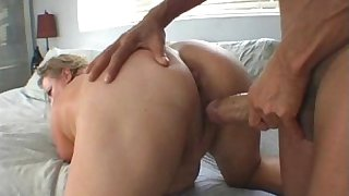 Fat Wife Gets Fucked in The Pool