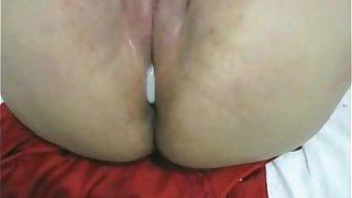 Fucked my Horny Fat Chubby Latina Ex GF with Creampie