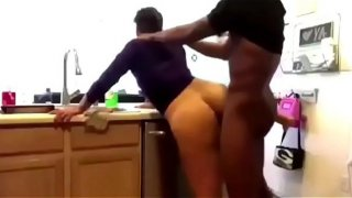 PAWG FUCKED IN KITCHEN